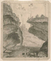Part of Cox's Pass, NSW, 1821