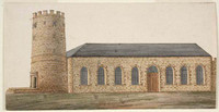 St Phillips (sic) Church Sydney, c.1808