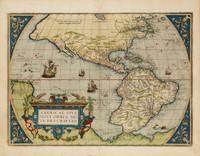 Americae sive novi orbis, nova descriptio, 1579