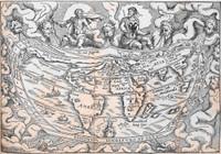 Carta cosmographica con los nombres propriedad y vertu de los vientos 1548