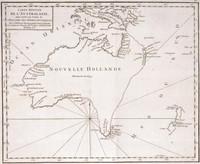 Carte reduite de lAustralasie pour servir a la lecture de l'Histoire des Terres Australes 1756