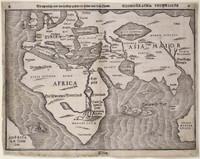 Die eigentliche und warhafftige Gestalt der Erden und des Meers Cosmographia universalis 1581