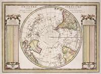 Emisfero terrestre meridionale delineato secondo le ultime osservazioni con i viaggi, e nuove scoperte del Cap 1789