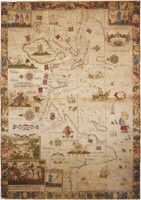 Gijsbertsz Map of Africa, Asia and the East Indies 1599