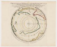 Hemisphere meridional, 1710