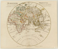 Hemisphere oriental, dresse en 1720