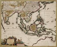 Indiae Orientalis nec non Insularum Adiacentium nova descriptio per Nicolaum Visscher cum privilegio Ordinum Hollandiae et Westfrisiae