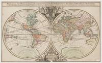 Mappe-monde geo-hydrographique, 1691