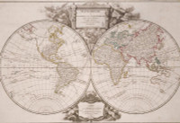 Mappemonde a lusage du Roy 1752