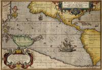 Maris Pacifici (quod vulgo Mar de Zur) cum regionibus circumiacentibus, insulisque in eodem passim sparsis, novissima descriptio 1589