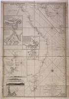 New chart of the eastern coast of New Holland from South Cape to Cape York