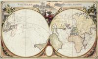 Nouvelle Mappe Monde, 1776