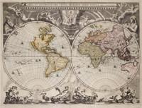 Nova totius terrarum orbis tabula 1664