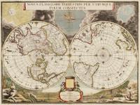 Novus planiglobii terrestris per utrumque polum conspectus, 1709