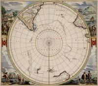Polus Antarcticus, 1657