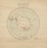 South Polar chart, 1886