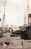 Australasian Steam Navigation Company's Wharf, Darling Harbour, c.1870