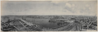 Darling Island and Harbour, looking towards the city, 1903