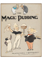 The Magic Pudding cover illustration