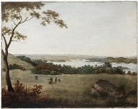 Sydney from Bell Mount (Bellevue Hill), 1813