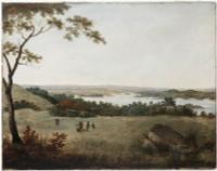 Sydney from Bell Mount (Bellevue Hill), 1813