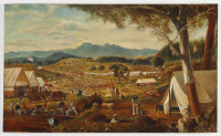 Gold diggings, Ararat, 1858?