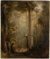 Brush scene, Brisbane Water, 1848