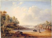 Sydney Harbour near Watson's Bay, 1851