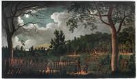 Corroboree at Newcastle,  ca. 1818