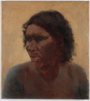 Portrait of an Aboriginal Woman [Maria Yulgilbar? ca. 189