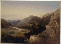 The Macdonald River, Wiseman's Road, 1840