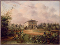 Residence of the Honble E.D. Thomson, Sydney, N.S.W., 1845