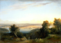 Sydney from St. Leonards, 1841