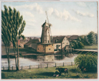 Howells' Mill, Parramatta, 1849