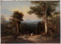 Mount King George from the Bathurst Road, 1848