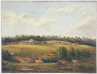 View of Bungarrabee (sic  ie. Bungarribee) NSW, 1858