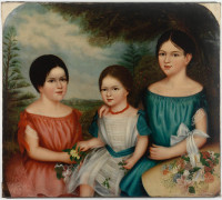 Fanny, Harriet and Emma Samuell
