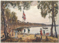 The Founding of Australia by Capt. Arthur Phillip R.N. Sydney Cove, Jan. 26th 1788