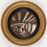 The convex mirror, ca. 1916