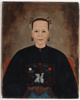 Ancestral portrait of Quong Tart's mother  ca. 1888
