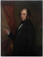 Cornelius Delohery, self portrait, 1855