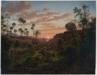 Sunset in New South Wales, 1865