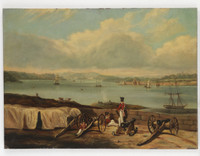 Port Jackson from Dawes Point, ca. 1842