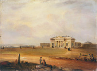 Supreme Court House, Sydney, NSW, 1845