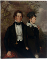 Thomas Chapman and Master Robert Cooper Tertius, 1840