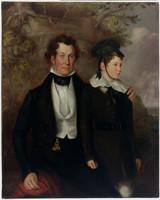 Thomas Chapman and Master Robert Cooper Tertius, 1840