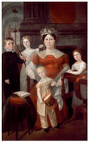 Ann Piper and her children, ca. 1826