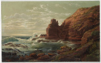 Castle Rock, Cape Schanck, Victoria, 1865