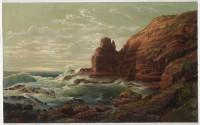 Castle Rock, Cape Schanck, Victoria, 1865
