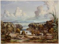 Woolloomooloo Bay and Grantham, ca. 1855